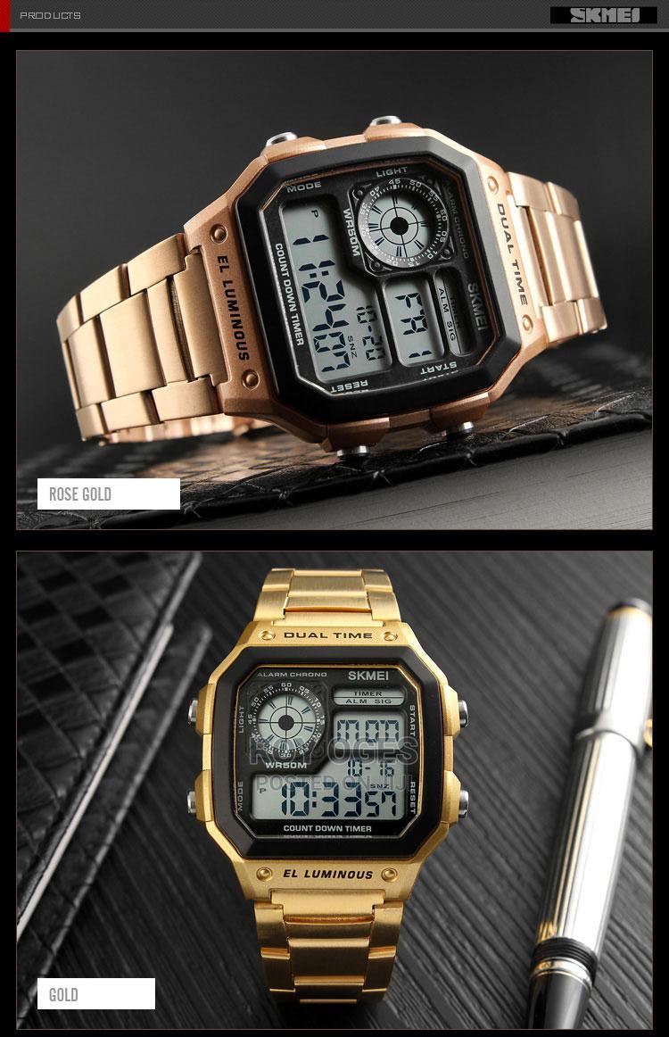 Men's Digital Waterproof Multifunctional Wristwatch | Watches for sale in Ikorodu, Lagos State, Nigeria