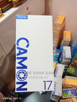 New Tecno Camon 17 128 GB Blue | Mobile Phones for sale in Lagos State, Agege