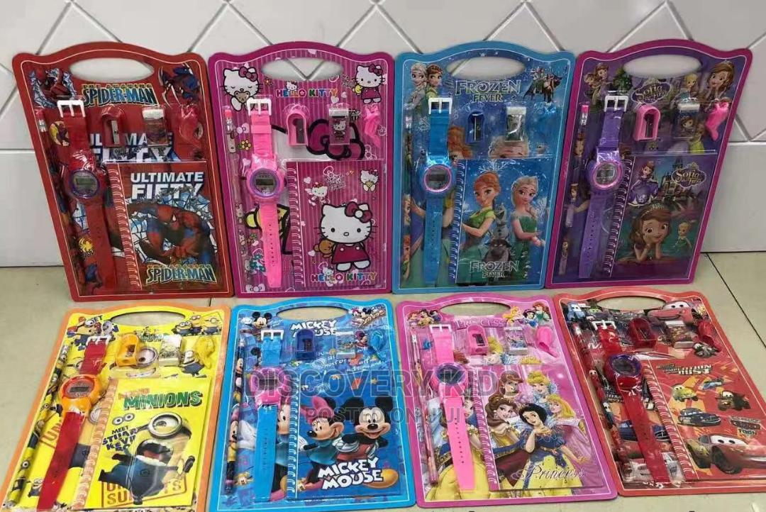 Characters Stationary Set for Kids Party Packs 12pcs