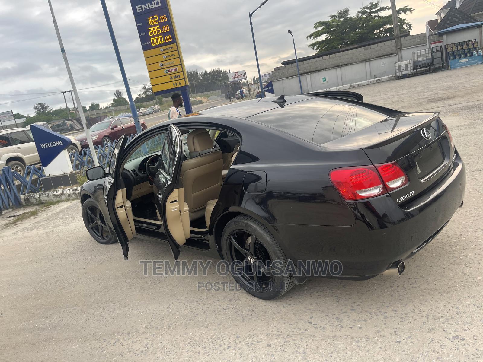 Lexus GS 2008 350 AWD Black   Cars for sale in Lekki, Lagos State, Nigeria