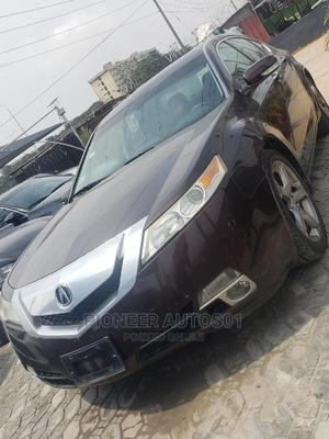 Acura TL 2010 SH-AWD Burgandy   Cars for sale in Lagos State, Lekki