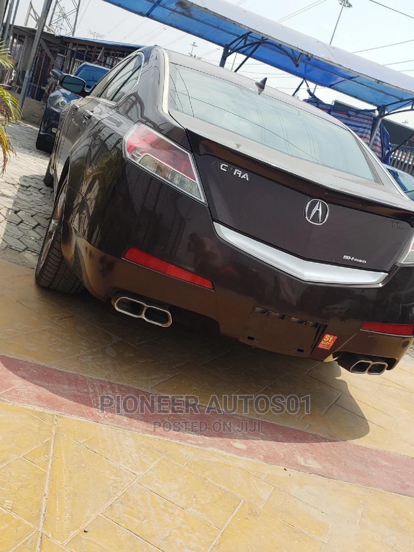 Acura TL 2010 SH-AWD Burgandy   Cars for sale in Lekki, Lagos State, Nigeria