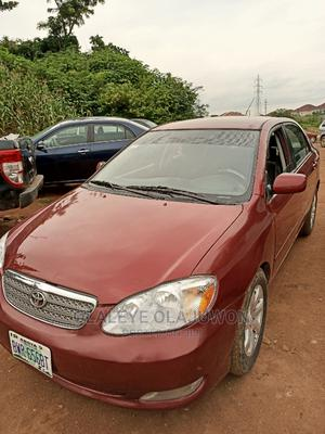 Toyota Corolla 2005 LE Red | Cars for sale in Abuja (FCT) State, Maitama