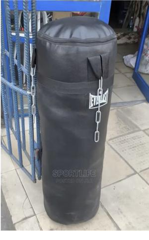 Everlast Standard Punching Bag 20lbs | Sports Equipment for sale in Lagos State, Surulere