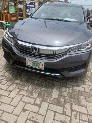 Honda Accord 2017 Gray   Cars for sale in Lagos State, Surulere