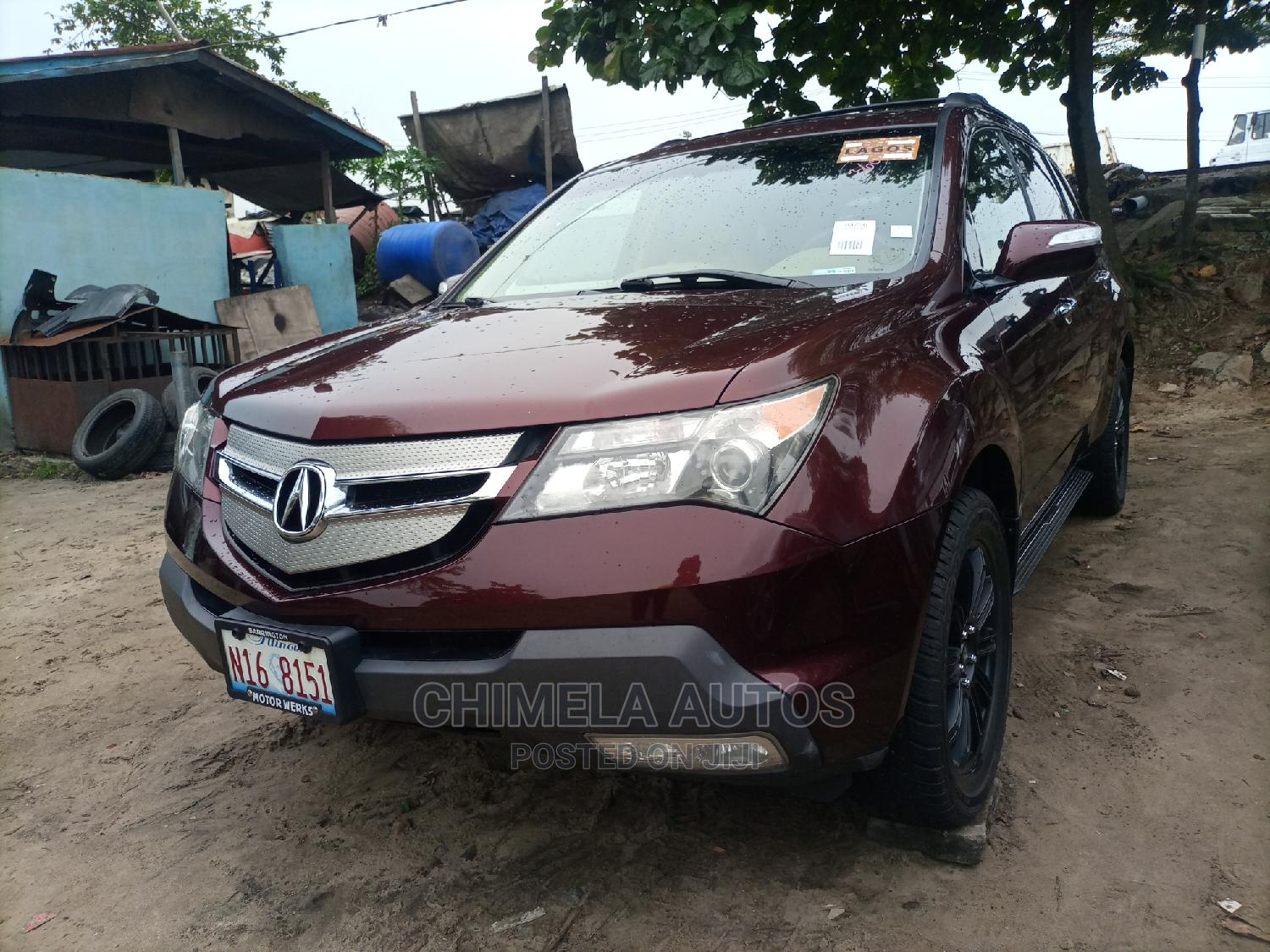 Acura MDX 2008 SUV 4dr AWD (3.7 6cyl 5A) Red