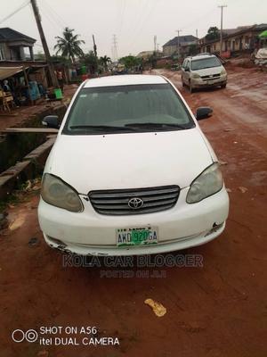 Toyota Corolla 2005 White   Cars for sale in Lagos State, Ojodu