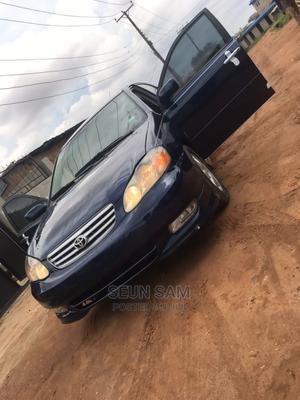 Toyota Corolla 2003 Sedan Automatic Blue | Cars for sale in Lagos State, Abule Egba