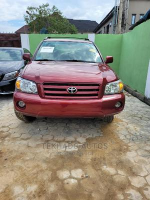 Toyota Highlander 2005 4x4 Red | Cars for sale in Lagos State, Alimosho