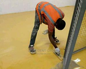 Yellow Epoxy Flooring | Building Materials for sale in Rivers State, Port-Harcourt