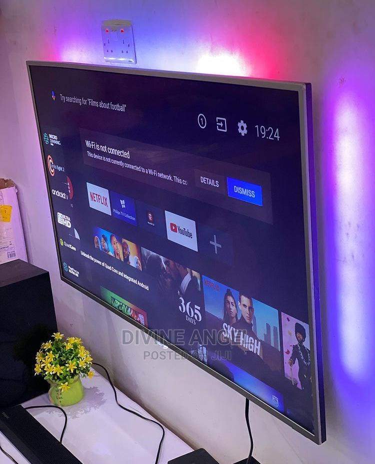 50 Inches Philips Android Smart Tv | TV & DVD Equipment for sale in Oshimili South, Delta State, Nigeria