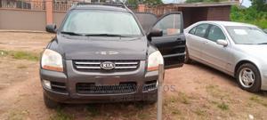 Kia Sportage 2006 2.7 EX V6 4WD Black | Cars for sale in Osun State, Ife