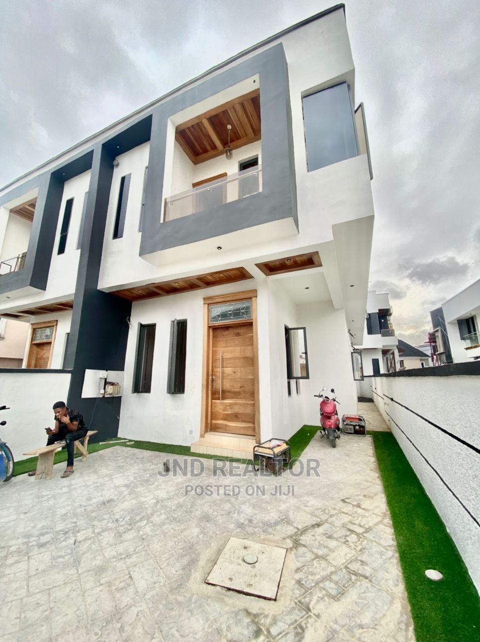 Furnished 4bdrm Duplex in Ajah for Sale