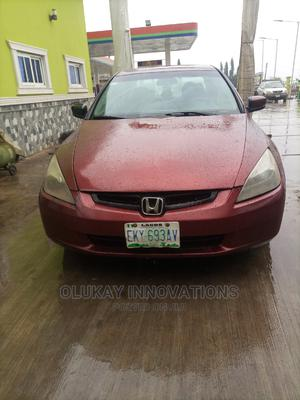 Honda Accord 2004 Automatic Red   Cars for sale in Ogun State, Ijebu Ode