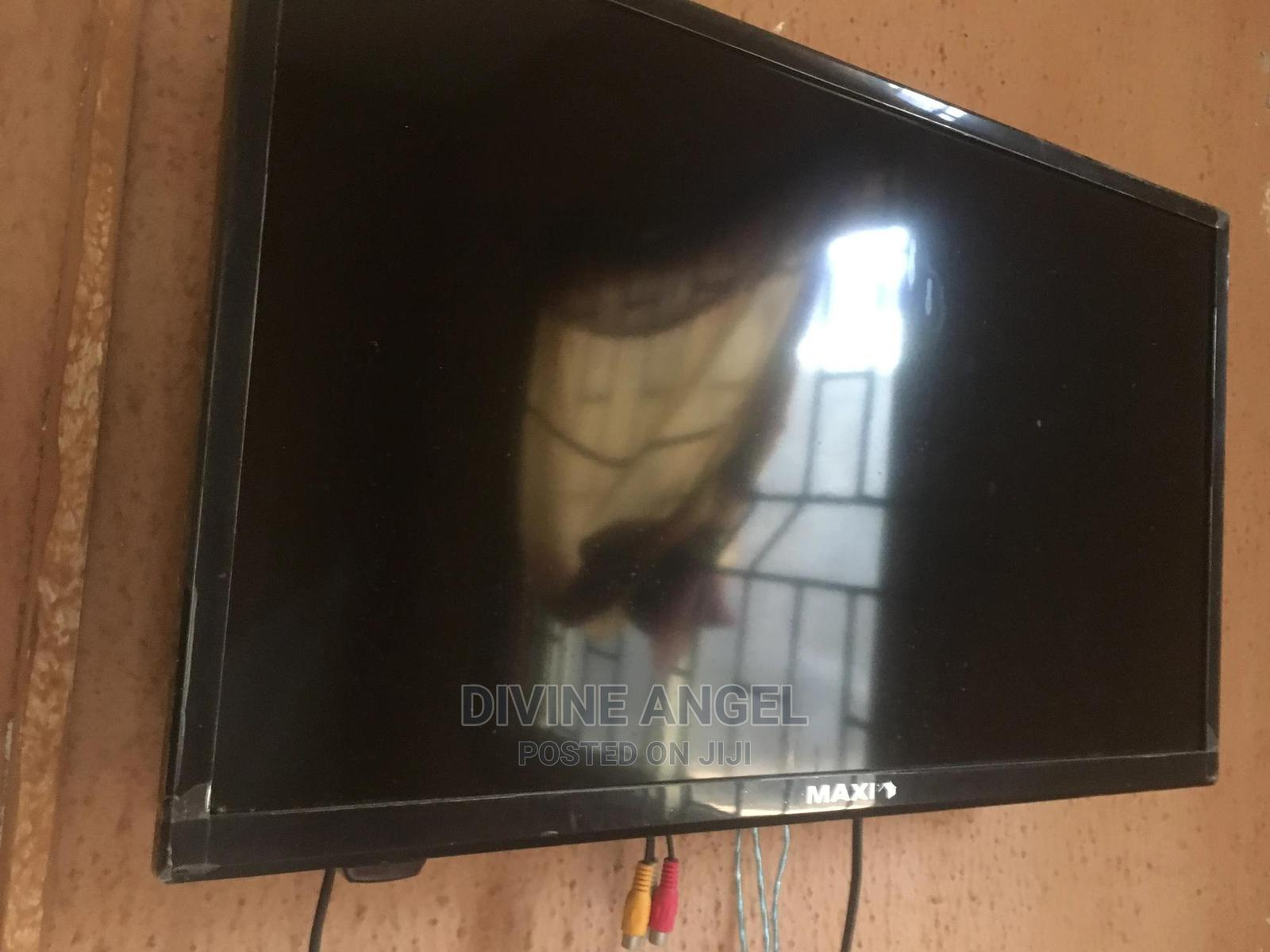 Maxi 24 Inches LED Tv   TV & DVD Equipment for sale in Oshimili South, Delta State, Nigeria