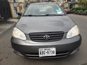 Toyota Corolla 2004 Sedan Automatic Gray | Cars for sale in Lagos State, Ikeja