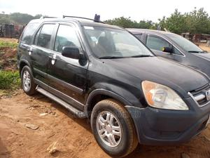 Honda CR-V 2001 2.0 4WD Automatic Black | Cars for sale in Abuja (FCT) State, Apo District