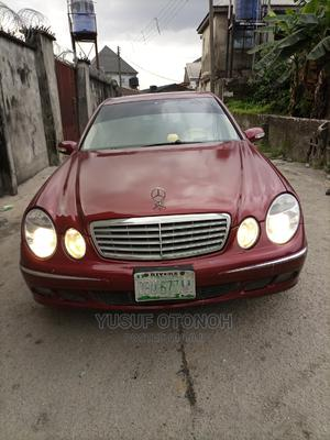 Mercedes-Benz E320 2004 Red   Cars for sale in Rivers State, Port-Harcourt