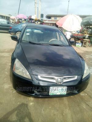 Honda Accord 2005 Black | Cars for sale in Lagos State, Egbe Idimu