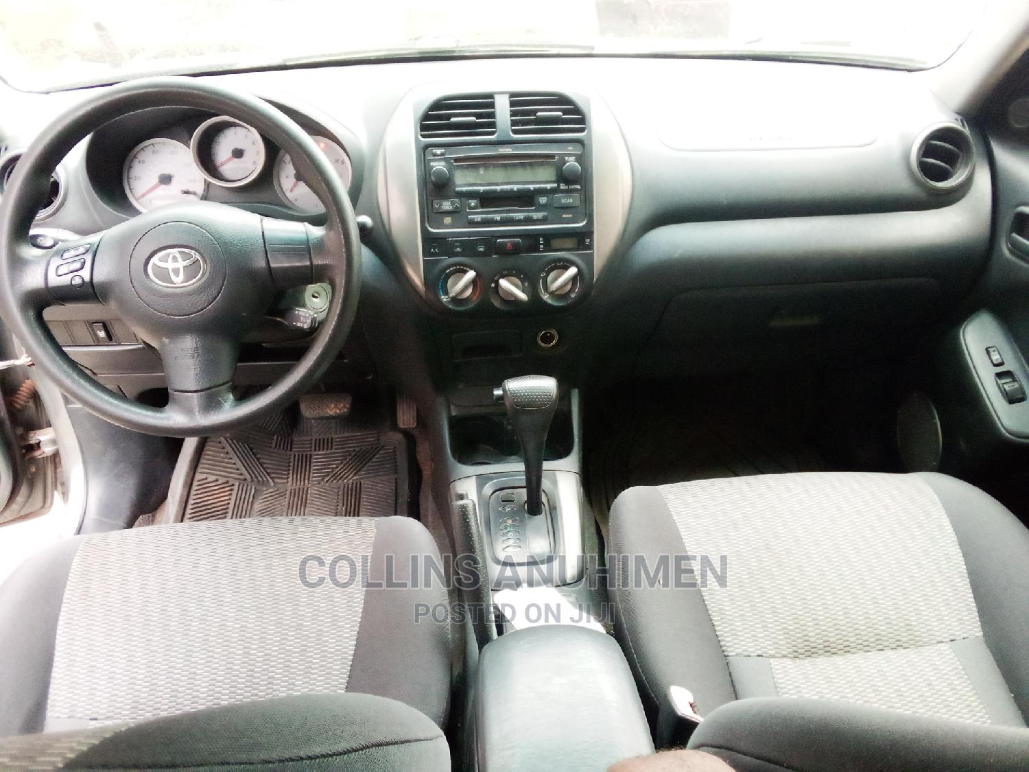 Toyota RAV4 2005 2.0 Automatic Gray   Cars for sale in Ojodu, Lagos State, Nigeria