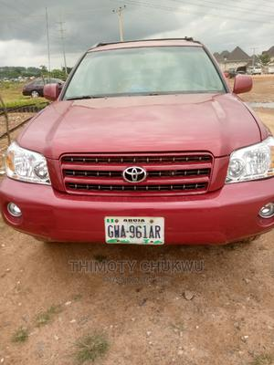Toyota Highlander 2003 Red | Cars for sale in Abuja (FCT) State, Gaduwa