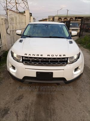 Land Rover Range Rover Evoque 2012 Coupe Dynamic White   Cars for sale in Lagos State, Ajah