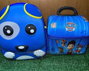 Character School Bag With Matching Lunch Box   Babies & Kids Accessories for sale in Lagos State, Ipaja