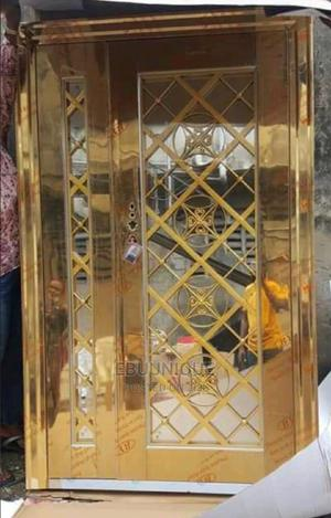 4ft Gold Glass Door   Doors for sale in Lagos State, Orile
