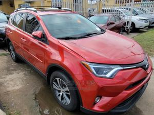 Toyota RAV4 2016 XLE AWD (2.5L 4cyl 6A) Red   Cars for sale in Lagos State, Surulere