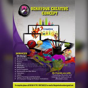Graphics Designer   Computer & IT Services for sale in Oyo State, Ibadan