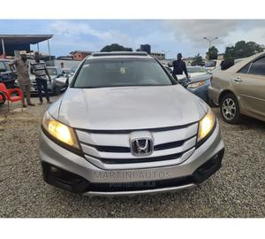 Honda Accord Crosstour 2013 Silver   Cars for sale in Lagos State, Yaba