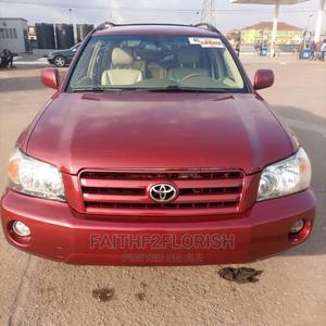 Toyota Highlander 2005 Limited V6 Red   Cars for sale in Lagos State, Ikeja