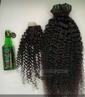 22inches Pure Water Waves Human and Closure   Hair Beauty for sale in Lagos State, Ikeja