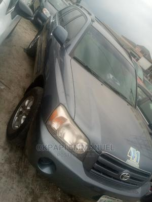 Toyota Highlander 2006 Limited V6 4x4 Gray | Cars for sale in Rivers State, Obio-Akpor