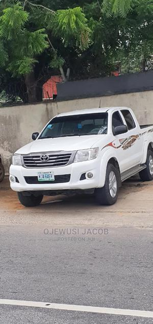 Toyota Hilux 2014 WORKMATE 4x4 White | Cars for sale in Lagos State, Ajah