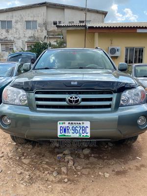 Toyota Highlander 2004 Limited V6 FWD Green | Cars for sale in Kaduna State, Kaduna / Kaduna State