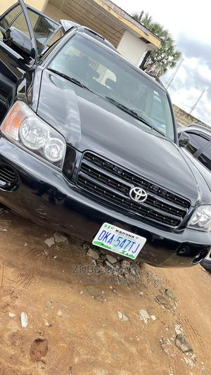 Toyota Highlander 2003 V6 FWD Black   Cars for sale in Kaduna State, Kaduna / Kaduna State