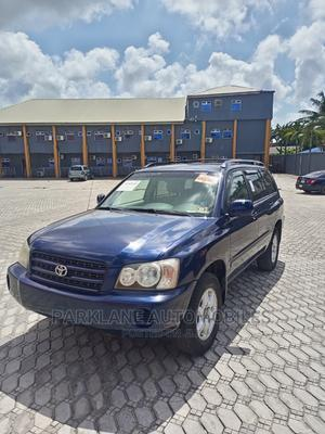 Toyota Highlander 2003 Limited V6 AWD Blue | Cars for sale in Lagos State, Amuwo-Odofin