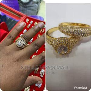 Zirconia Gold Ring.   Wedding Wear & Accessories for sale in Lagos State, Lagos Island (Eko)