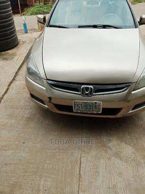 Honda Accord 2007 Coupe EX Silver | Cars for sale in Ekiti State, Ado Ekiti