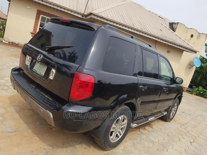 Honda Pilot 2005 Black   Cars for sale in Ikeja, Lagos State, Nigeria