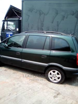 Opel Zafira 2004 Green | Cars for sale in Lagos State, Surulere