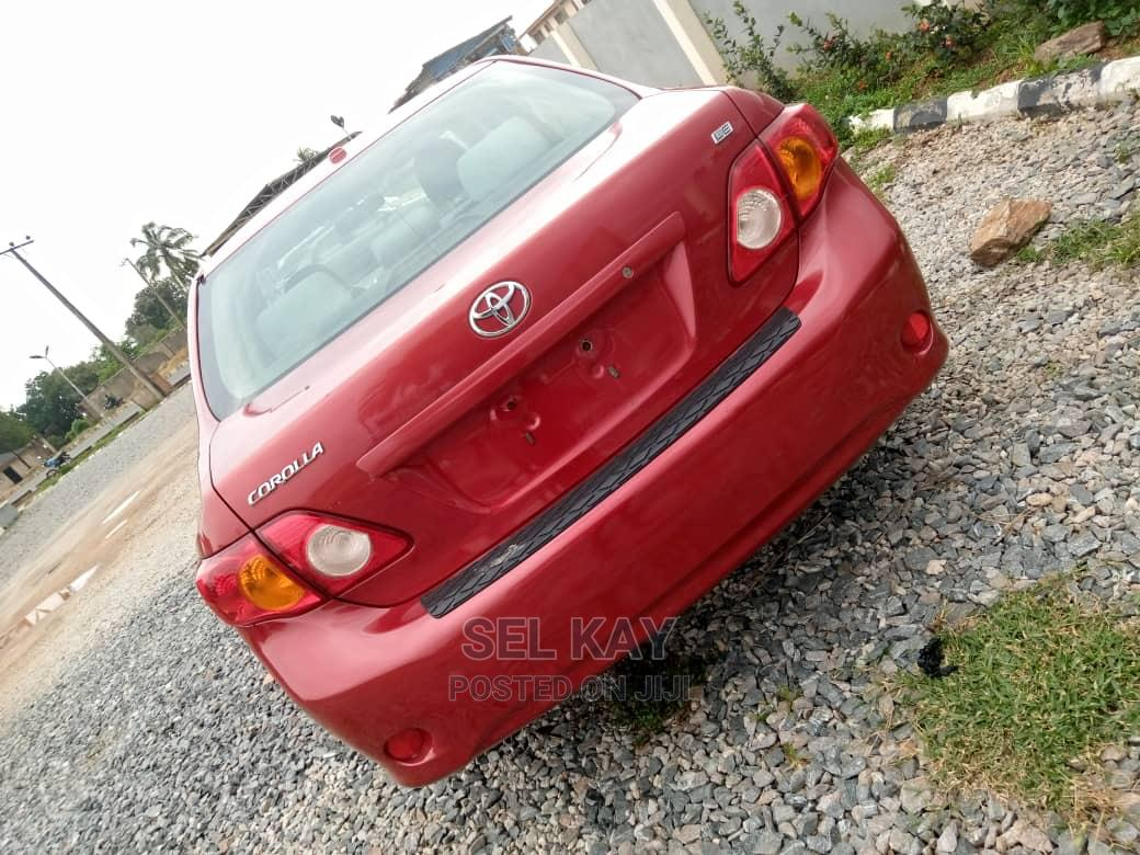 Archive: Toyota Corolla 2009 Red
