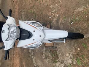 Haojue HJ110-5 2020 White   Motorcycles & Scooters for sale in Oyo State, Atiba