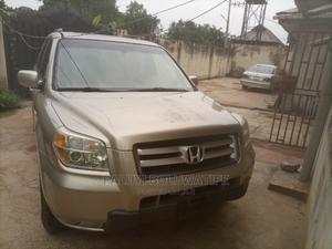 Honda Pilot 2006 EX 4x2 (3.5L 6cyl 5A) Gold | Cars for sale in Ogun State, Ikenne