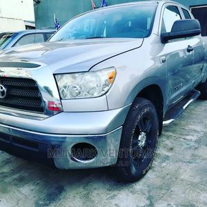 Toyota Tundra 2007 SR5 Double Cab Silver | Cars for sale in Lagos State, Ikeja