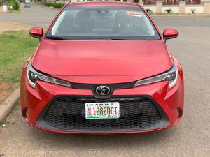 Toyota Corolla 2019 LE Eco (1.8L 4cyl 2A) Red | Cars for sale in Abuja (FCT) State, Wuse 2