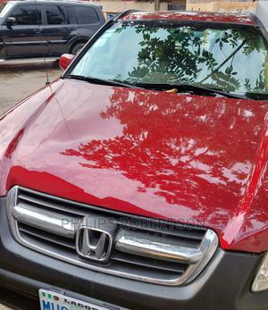 Honda CR-V 2004 EX 4WD Automatic Red   Cars for sale in Lagos State, Ikeja