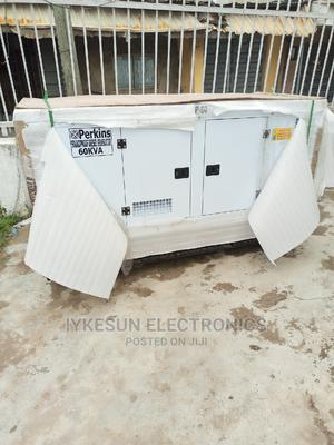 Perkins 60KVA Soundproof Diesel Generator 100%Copper Coil   Electrical Equipment for sale in Lagos State, Amuwo-Odofin