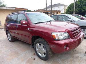 Toyota Highlander 2005 Limited V6 Red   Cars for sale in Lagos State, Ejigbo